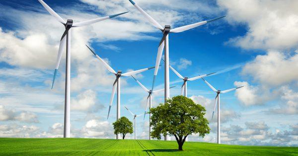 energia powietrzna z wiatraków