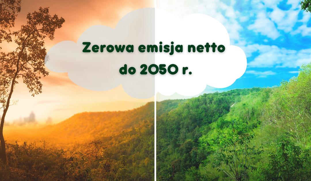zerowa emisja netto do 2050 roku
